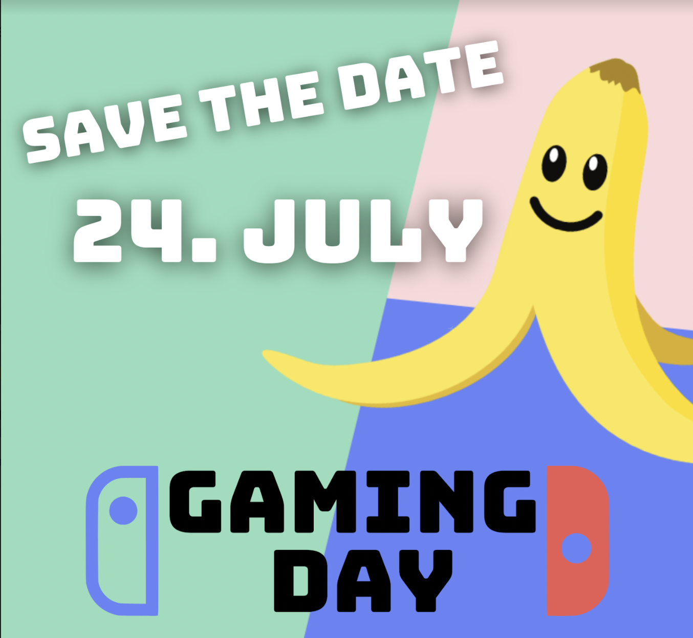 """Gaming Day """"Save the Date"""""""
